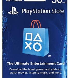 PSCard_50PlaystationStoreCard_50Dollar کارت خرید 50 دلاری پلی استیشنDollar کارت خرید 50 دلاری پلی استیشن