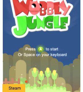 WobblyJungle بازی جنگل لرزان