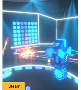 Robot Roller-Derby Disco Dodgeball - Steam