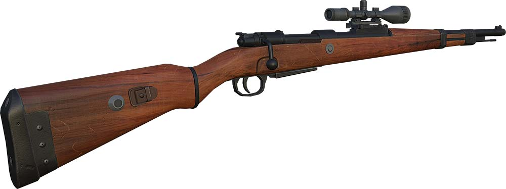 اسلحه kar98 در بازی زولا