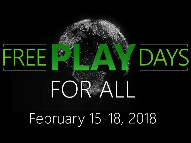 بازیهای رایگان برای کنسول Xbox Live از 15 تا 18 فوریه 2018