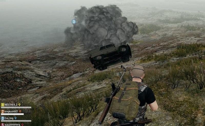 اضافه شدن خودروهای زرهی و ارتش هشت نفره با حالت بازیSteel Rain بازی PUBG