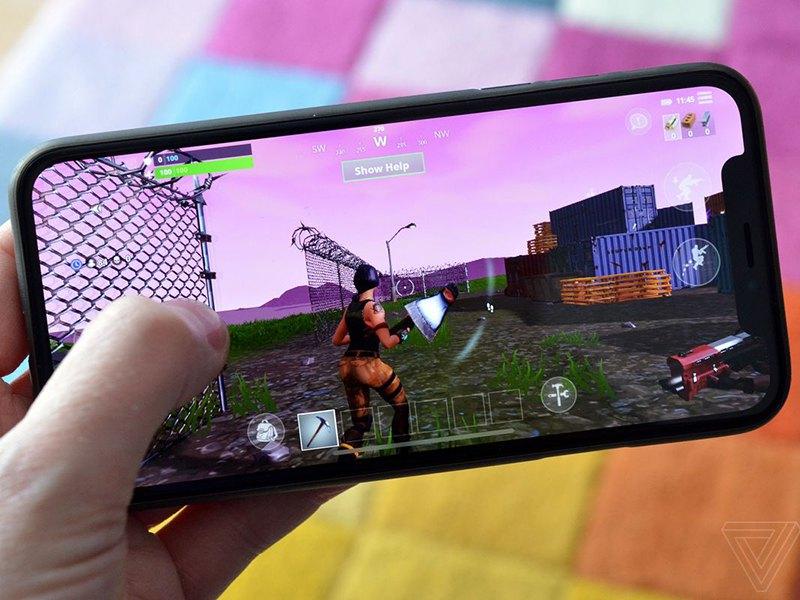 نسخه iOS بازی موبایل Fortnite