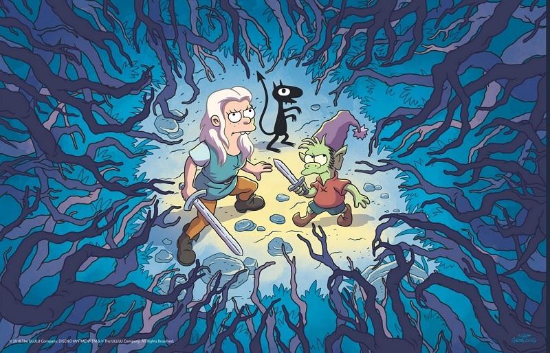 انیمیشن کمدی و فانتزی Disenchantment تابستان امسال به شبکه نتفیلیکس می آید - سرگرمی