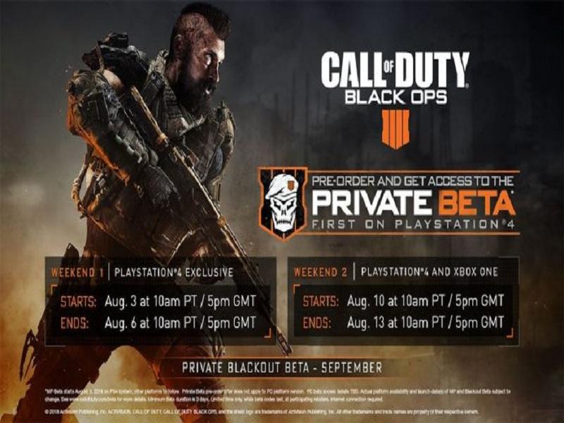 جزئیات بخش بتای چندنفره بازی Call of Duty: Black Ops 4 اعلام شد - سرگرمی