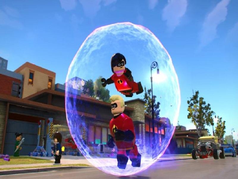 بازی Lego: Disney Pixar's The Incredibles
