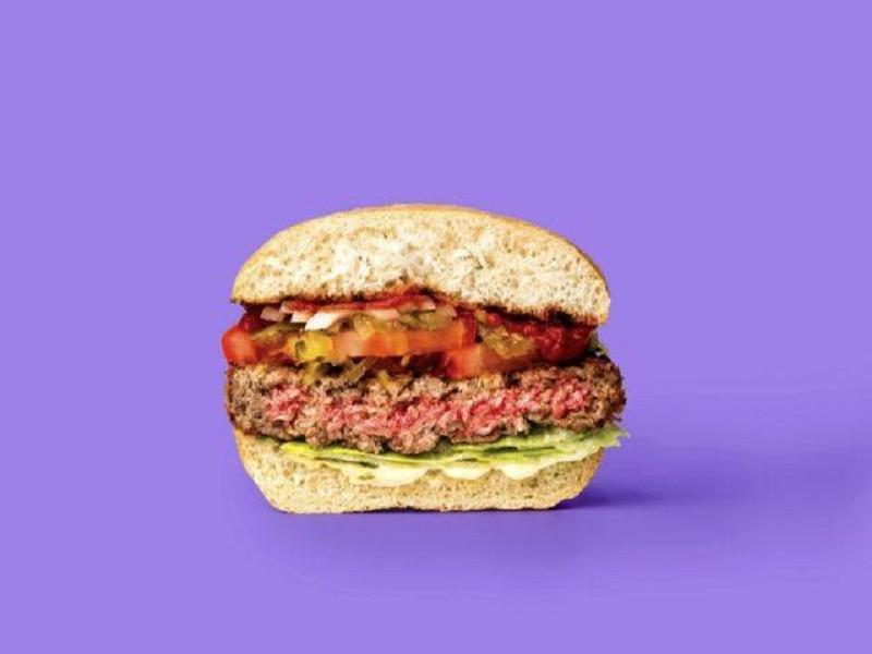 برگر عاری از گوشت کمپانی Impossible Foods