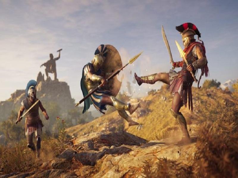 انتشار دو تریلر سینمایی جدید برای بازی Assassin's Creed Odyssey در رویداد Gamescom 2018