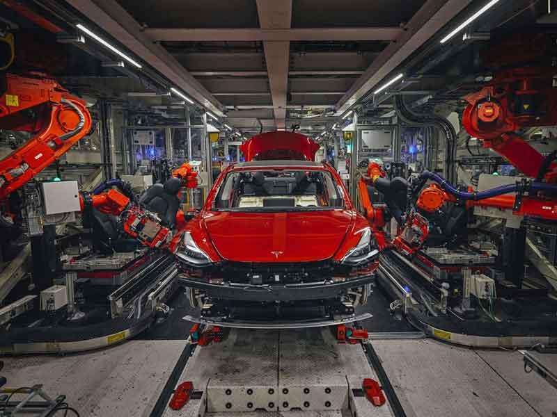 پیشرفت 80 درصدی تولید خودروهای تسلا در سه ماهه سوم نسبت به سال گذشته-سرگرمی تسلا مدل 3