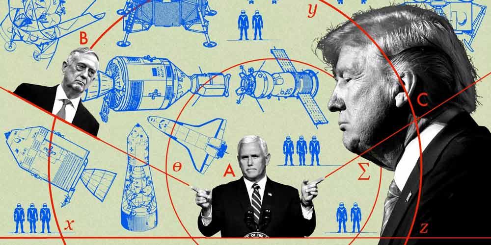 با تشکیل نیروی فضایی ترامپ، فضا به حوزه جنگی بدل میشود