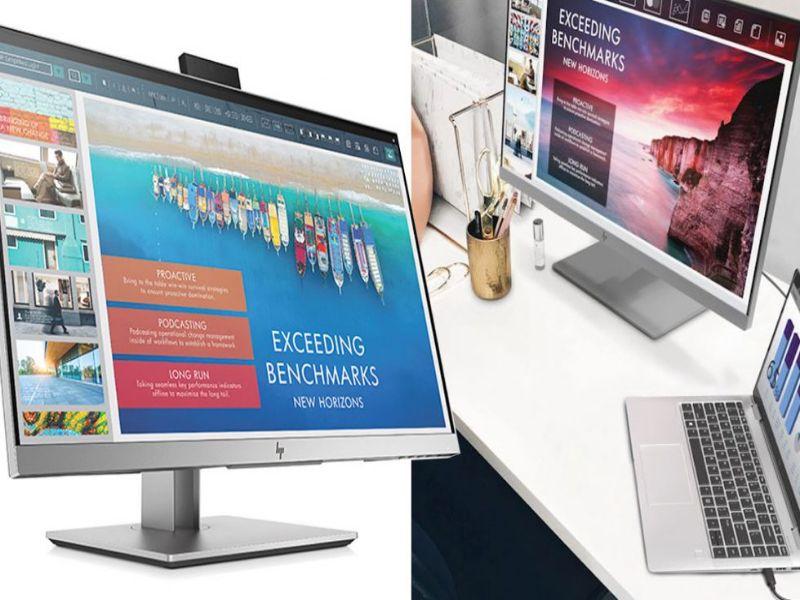 کمپانی HP از مانیتور EliteDisplay E243d رونمایی کرد - سرگرمی