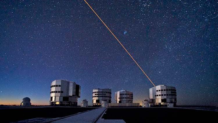 تلسکوپ بسیار بزرگ یا ویالتی (VLT)