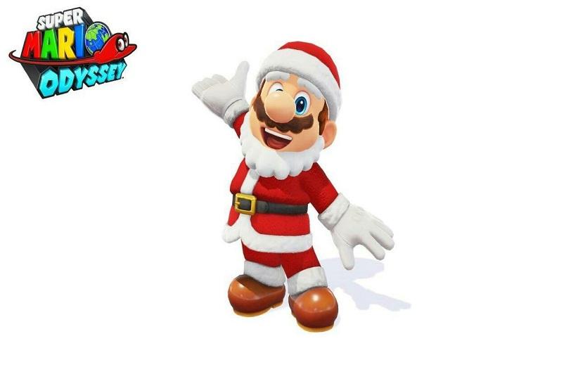 پوشش بابانوئل برای شخصیت ماریو در بازی Super Mario Odyssey در دسترس قرار گرفت