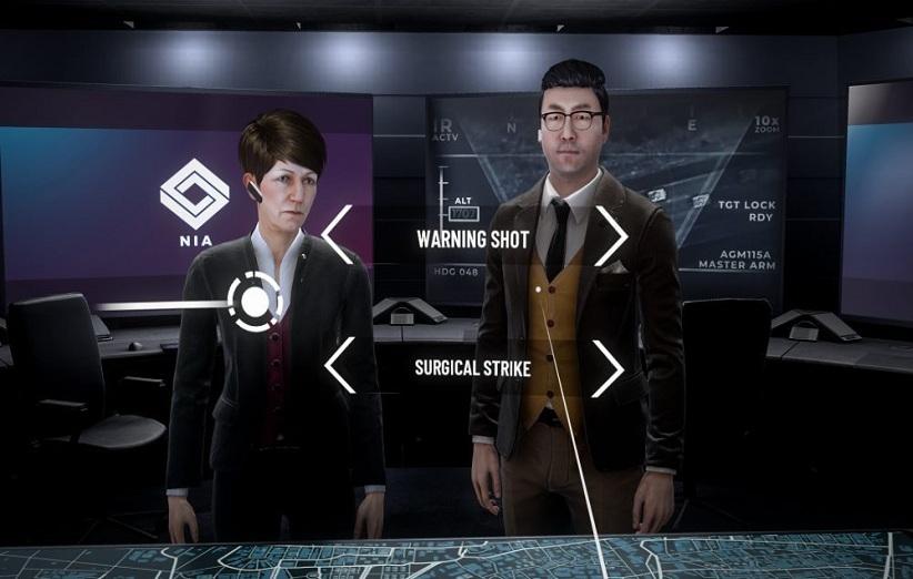 بازی Shattered State یک بازی با سبک روایی - داستانی است که حال و هوایی سیاسی دارد. این بازی که در سبک واقعیت مجازی ساخته شده است