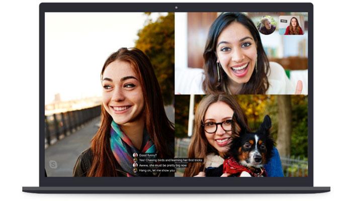 اسکایپ 8 با قابلیت زیرنویس زنده روی مکالمات ویدیویی منتشر شد- سرگرمی