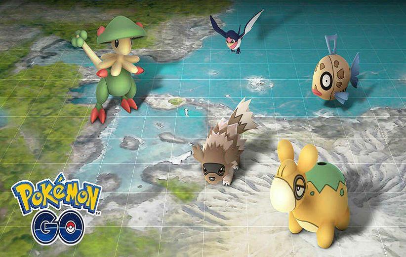 رویداد Hoenn بازی Pokemon Go با محوریت حضور پوکمونهای افسانهای نسل سوم آغاز شد