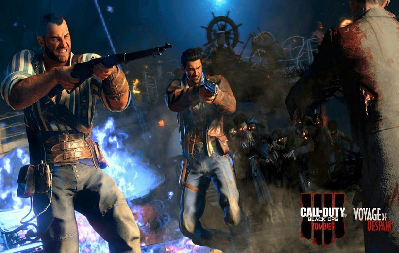 حالت زامبی در بازی Call of Duty: Black Ops 4