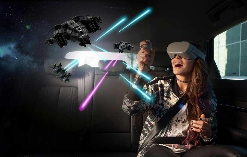 آئودی هولوراید تجربه واقعیت مجازی را برای همه خودروها عرضه میکند