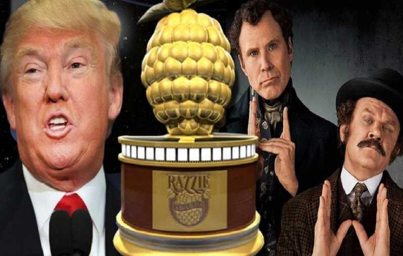 برندگان جوایز تمشک طلایی معرفی شدند | فیلم Holmes and Watson در صدر