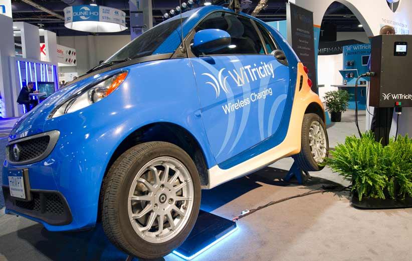 وایتریسیتی و کوالکام میخواهند تکنولوژی شارژ بیسیم را به استاندارد خودروهای برقی تبدیل کنند