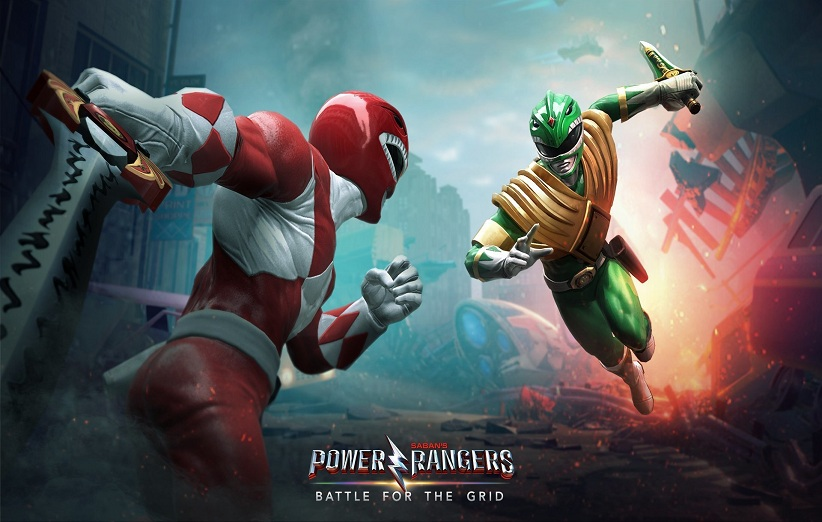 تریلر بازی Power Rangers: Battle for the Grid
