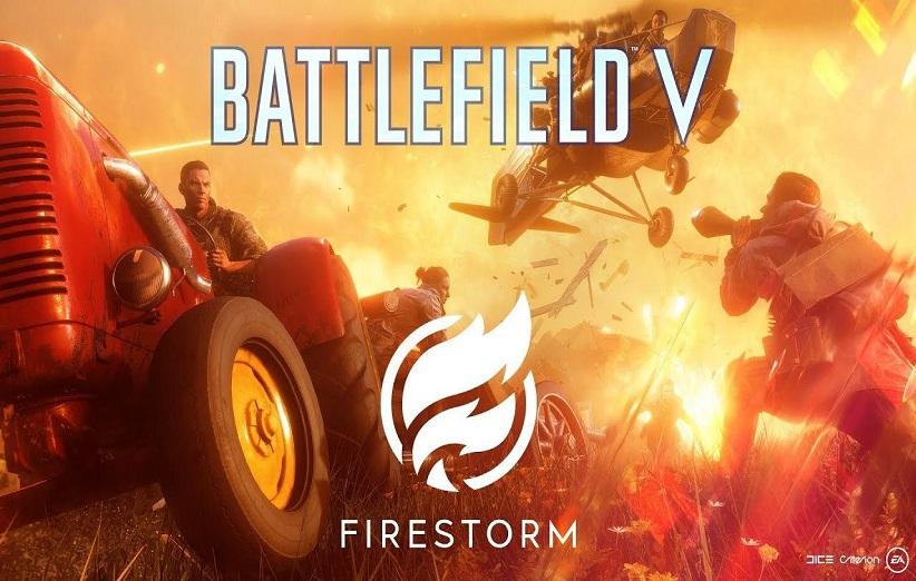 حالت بتل رویال بازی Battlefield 5