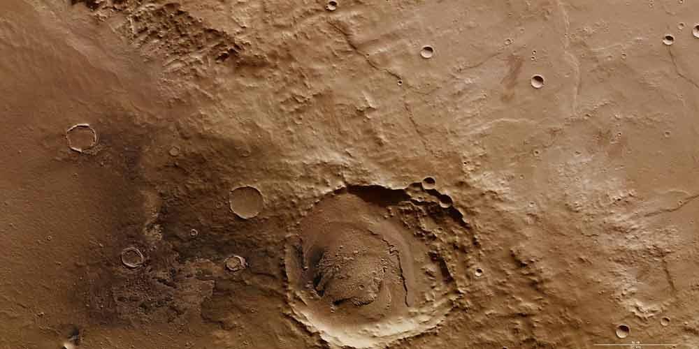 کشف شواهدی از وجود یک سیستم آب زیرزمینی سرتاسری در مریخ