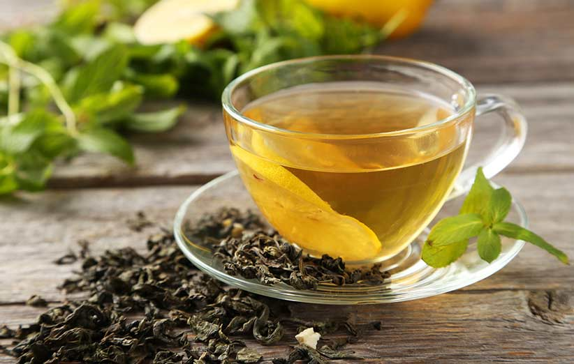 چای سبز باعث کاهش التهاب روده و چاقی میشود