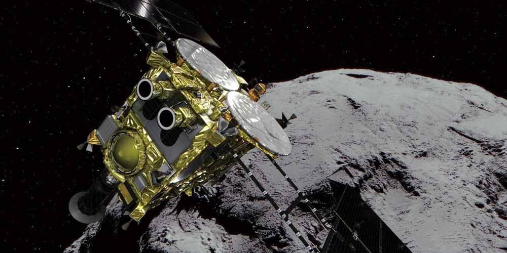 فضاپیمای هایابوسا ۲ ژاپن با موفقیت سیارک ریوگو را بمباران کرد