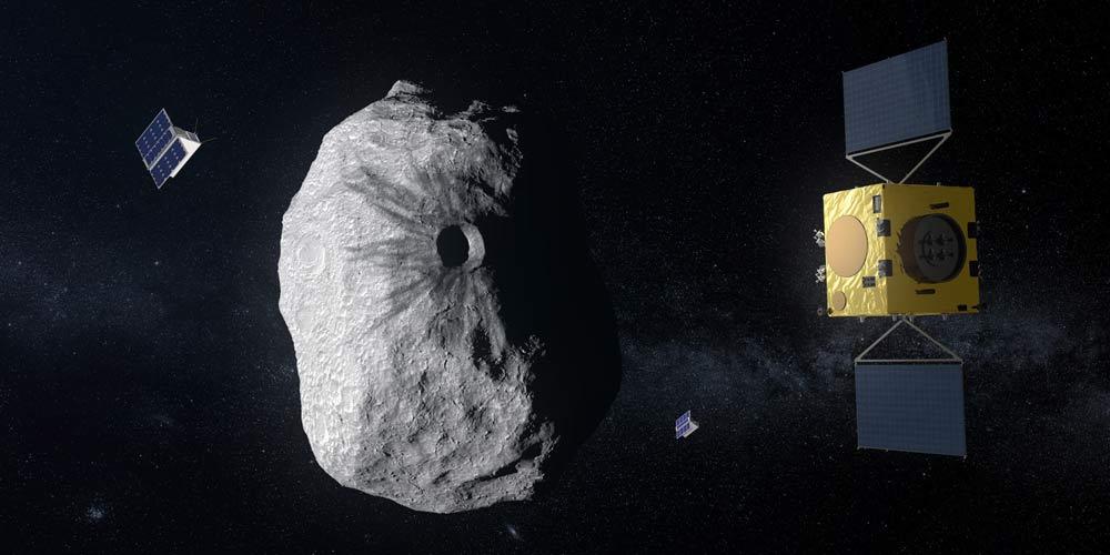 یک فضاپیمای خودران میتواند زمین را از برخورد سیارکها نجات دهد
