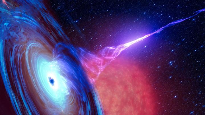 تا قبل از اینکه اخترشناسان تصویر اخیر را از سیاهچاله ثبت کنند، سیاهچالهی غولپیکر مرکز کهکشان مسیه ۸۷ ، به صورت یک معمای حل نشده باقی مانده بود. اخترشناسان قبلا ابری از ذرات با انرژی بالا را در مرکز کهکشان مشاهده کرده بود که با سرعتی نزدیک به نور حرکت میکرد